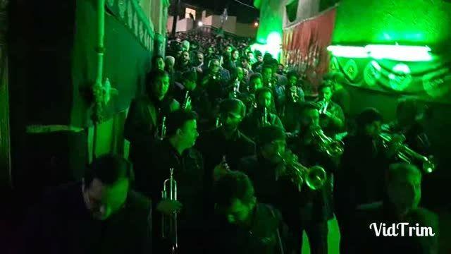 گروه موزیک آوار دماوند در شب عاشورای سال 94