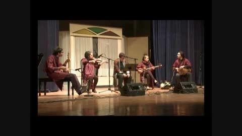 کنسرت موسیقی گروه پلک قطعات والس و 4 مضراب