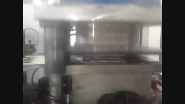 دستگاه جدید تولید ظروف یکبار مصرف آلومینیومی