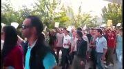 تظاهرات تهرانی ها در حمایت از کوبانی