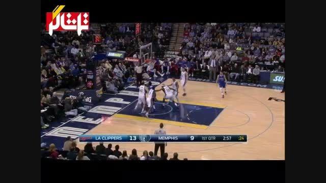 خلاصه بسکتبال : لس آنجلس کلیپرز - ممفیس ( ویدیو )