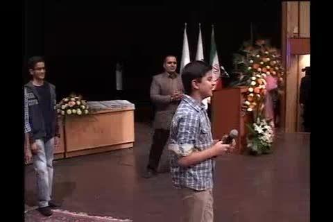 مسابقه تقلید صداحسین رفیعی جشنواره دبیرستان سلام تجریش