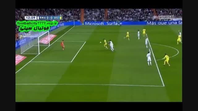 خلاصه بازی رئال مادرید 1 - 1 ویارئال (لالیگا اسپانیا)