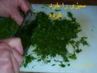 پعالی ترین روش برای درست کردن کوفته برنجی