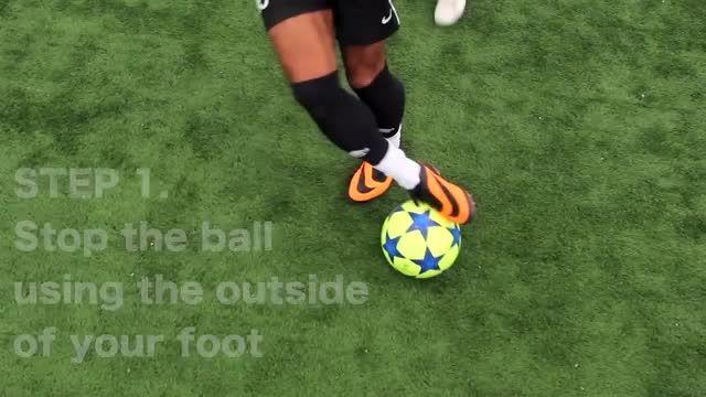 آموزش فوتبال - 4 مهارت جالب - پارت 2