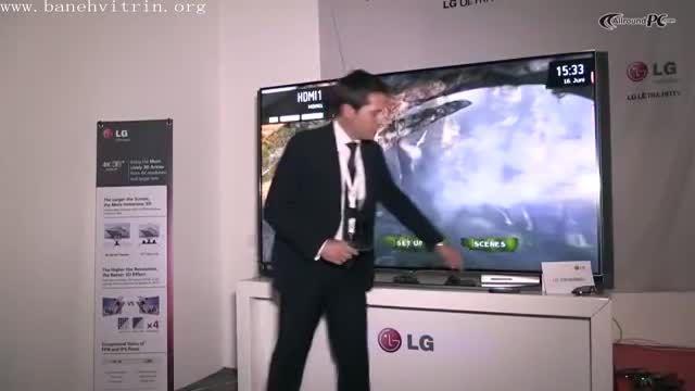 تلویزیون ال ای دی سه بعدی اسمارت فورکای ال جی 79UB980
