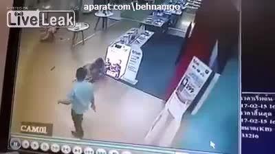 قتل دلخراش دختر با چاقو در مغازه +18