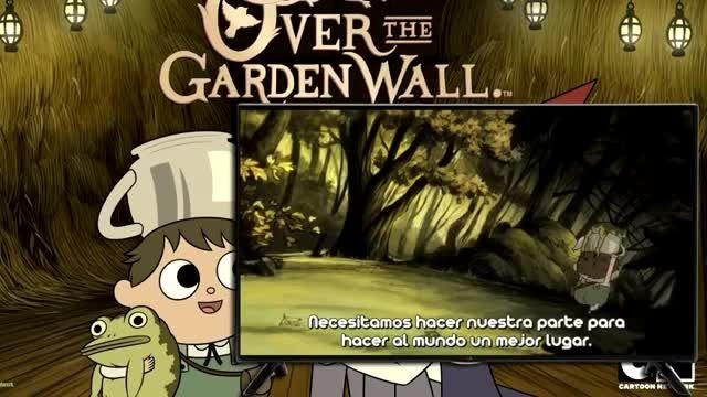 فسمت سوم over the garden wall (بیش از دیوار باغ)