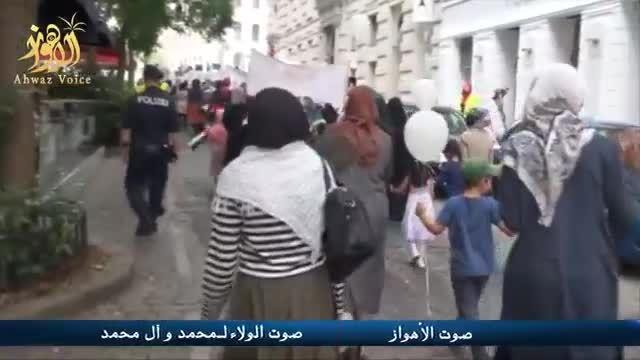 راهپیمایی روز جهانی قدس در وین پایتخت اتریش