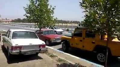 چه حالی میده اینطور پارک کنی