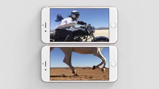 ویدئوی تبلیغاتی آیفون 6 با تمرکز روی عکاسی و فیلمبرداری