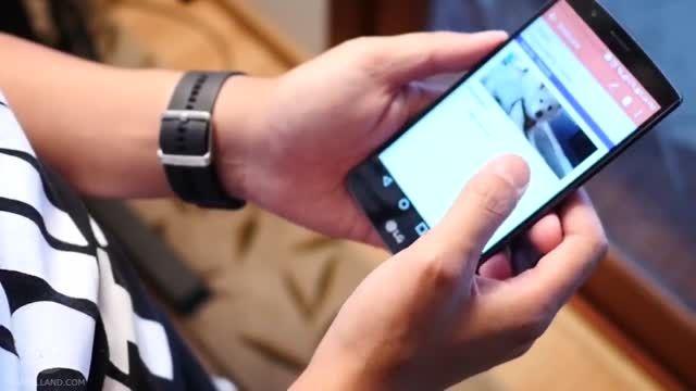 بررسی مشخصات فنی گوشی LG G4 به زبان فارسی