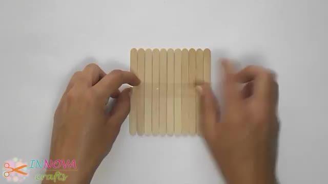 خودتان درست کنید - آموزش ساخت زیر لیوانی چوبی