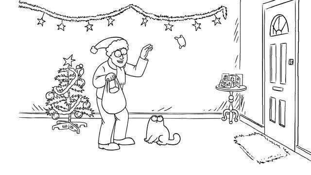 Simons Cat - کریسمس