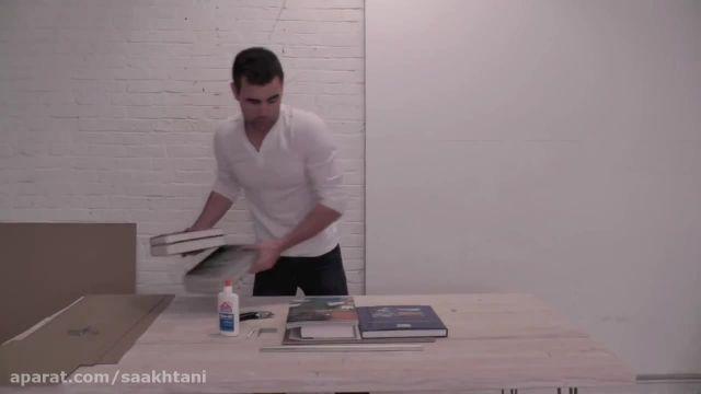 آموزش ساخت : رخت آویز سیمانی بسازید