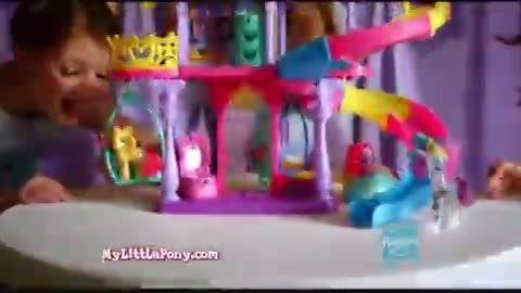 تبلیغ عروسک قصر پونی ها