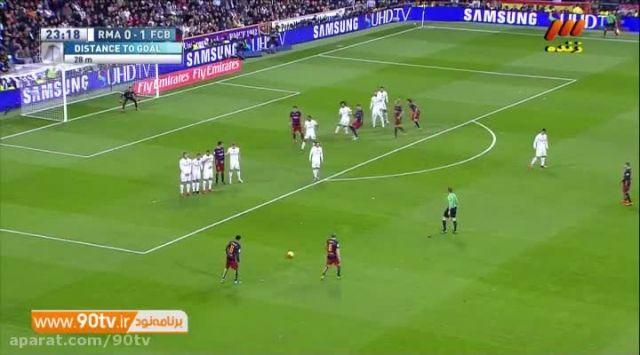 خلاصه بازی: رئال مادرید 0-4 بارسلونا