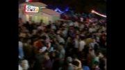 شادی مردم ایران بعد از پایان بازی ایران . کره