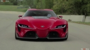 مصاحبه مطبوعاتی با تیم طراح تویوتا Toyota FT-1 Concept