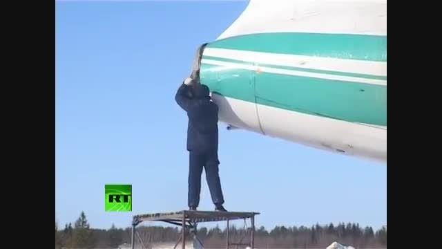 فرود معجزه آسای هواپیمای TU-154M در جنگل - JUSTFLY.IR