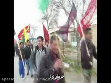 اعزام کاروان پیاده زیارتی مشهد الرضا - شهرستان درگز