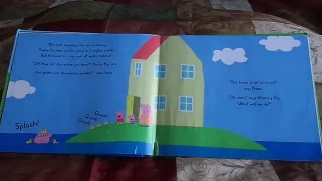 کتاب PEPPA PIG AND THE MUDDY PUDDLES