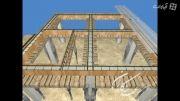 نحوه اجرای عرشه فولادی در سازه بتنی