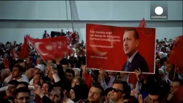 کمپین تبلیغاتی اردوغان در آلمان