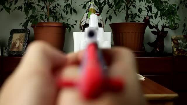 (معرفی)ساخت یک اسحله باکاغذ(شلیک سه مدل گلوله)