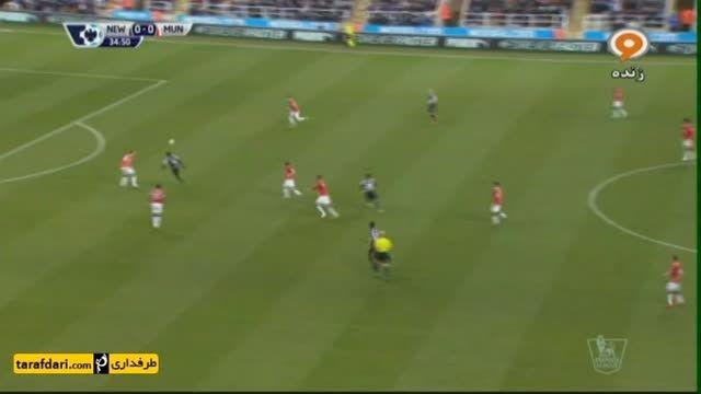 خلاصه بازی نیوكاسل 0-1 منچستر یونایتد