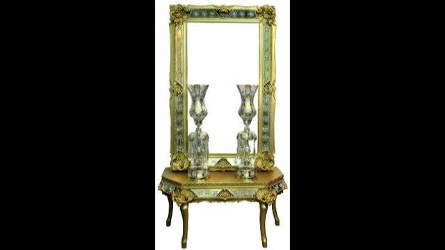 خرید آینه و شمعدان از سایت آرت لوکس