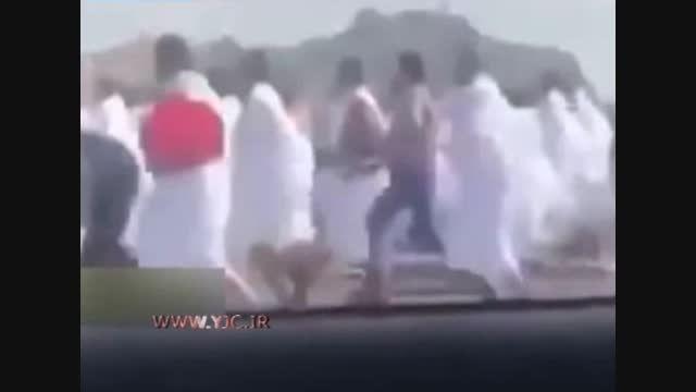 ربودن حجاج توسط شرطه های سعودی!!!!