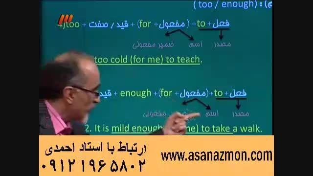 آموزش و حل مثال کنکور درس انگلیسی - 3
