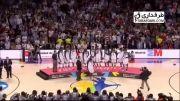 جشن قهرمانی آمریکا پس از قهرمانی در جام جهانی بسکتبال