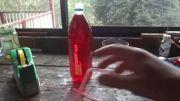 یک راه جالب برای انتقال مواد درون بطری