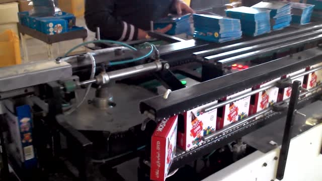 ماشین اتوماتیک بسته بندی انواع جعبه