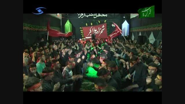 عزاداری جوانان محفل مکتب الزهرا(س) - تاکستان-قزوین