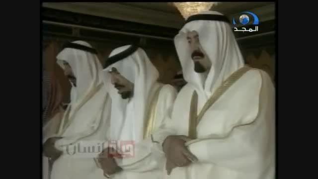 تشیع جنازه مفتی بزرگ عربستان