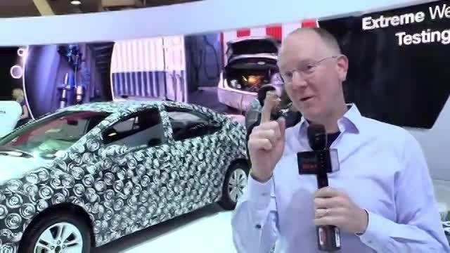 CES 2014- Toyota Announces Hydrogen Fuel Cell Vehicle f