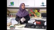 آموزش پخت حلیم  بادمجان کرمانی