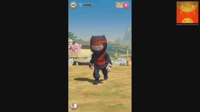 تریلر بازی clumsy ninja برای اندروید