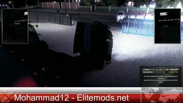 پارک کردن تریلر در بازی ETS2