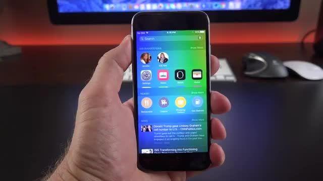 تغییرات جدید iOS 9 بتا 4
