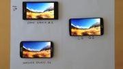 قدرت فوق العاده LG G2 در مقابل Galaxy S4 و xperia Z1