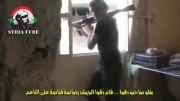 مرگ تروریست توسط تک تیرانداز ارتش سوریه