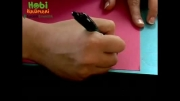 آموزش کاردستی با کاغذ رنگی
