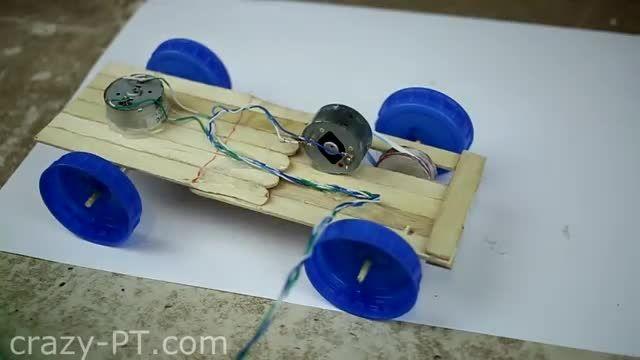 ساخت ماشین الکترونیکی،کنترولی، با لوازم ساده!(ساخت)