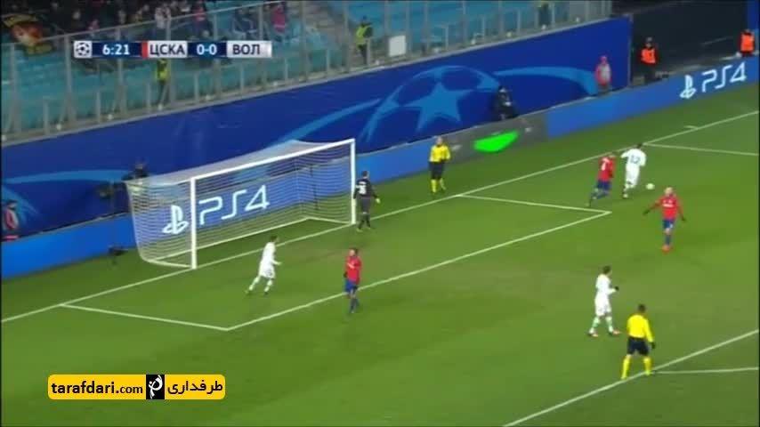 خلاصه بازی زسکا مسکو 0-2 وولفسبورگ