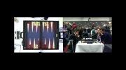 مسابقه دوبل تخته نرد  (Michy + Mochy  vs  Tue Rex + Michael MIK Larsen)
