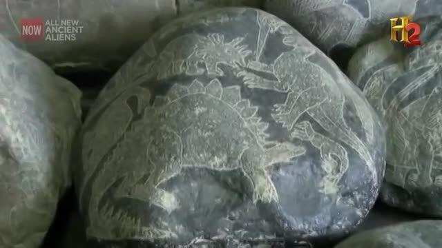 شکار دایناسور ها توسط اقوام غولپیکر اینکاها!